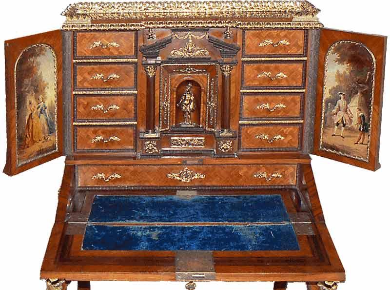 Mobili in stile francese antiquares for Stili mobili antichi