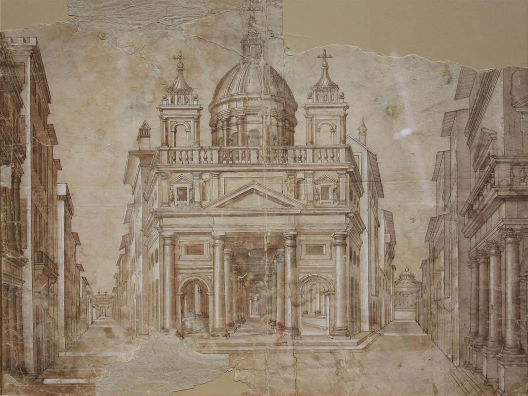 La citt ideale eccezionale disegno di architettura del for Disegno del piano di architettura