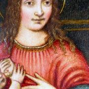 Antiquares-Madonna-con-Bambino-Marco-D'Oggiono-5