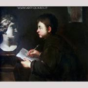Antiquares-Bambino-con-scultura-2