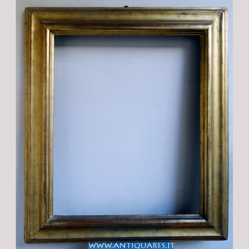 Cornice dorata dei primi del settecento antiquares - Cornice dei mobili ...